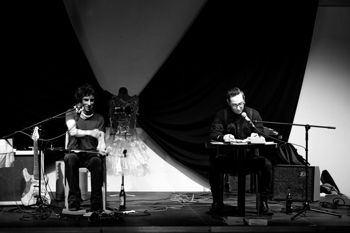 Bukowski-Lesung Foto Lucie