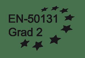 EN50131 Grad 2 zertifiziert