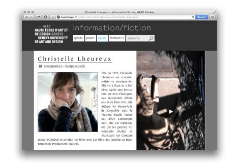bio-page