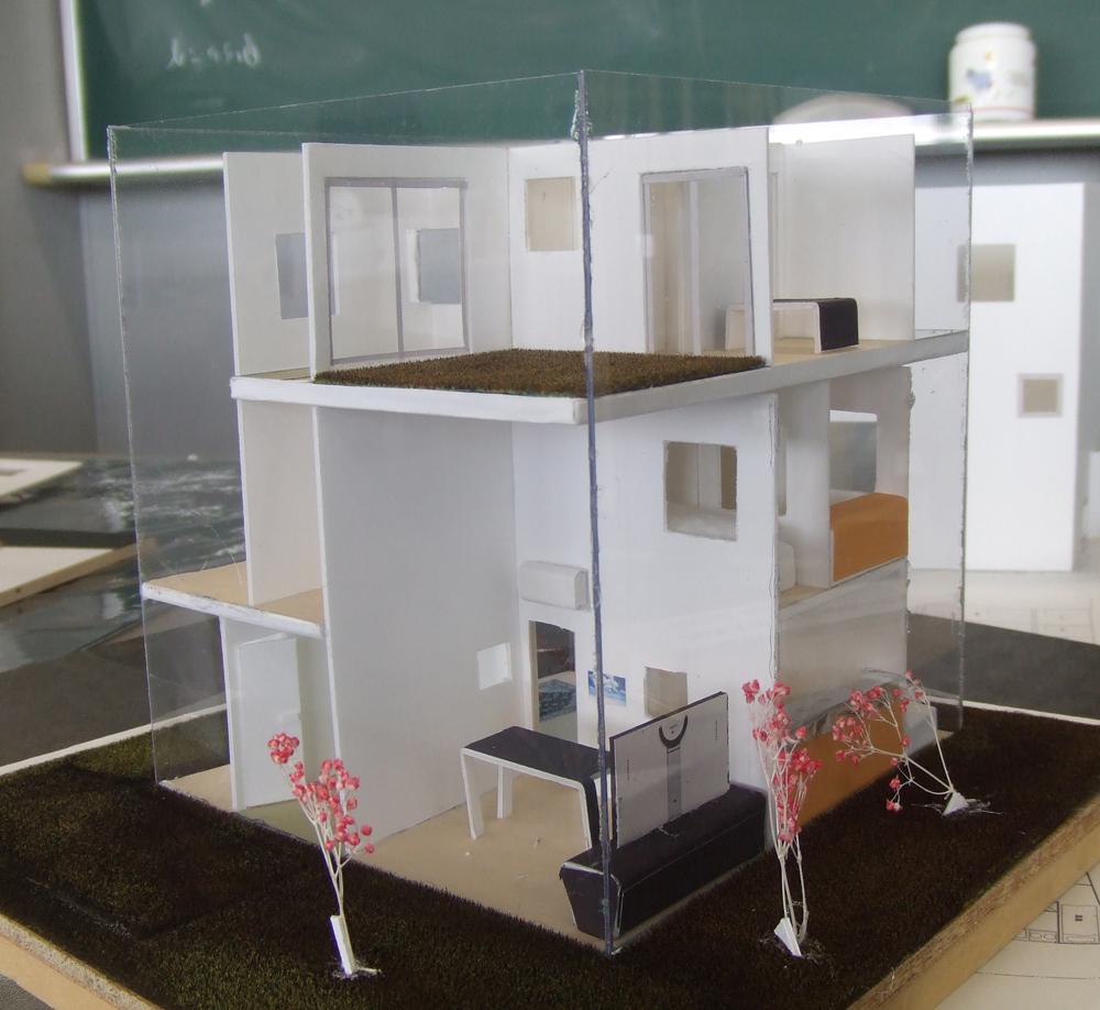2011年度 建築設計製図1 優秀作品 模型