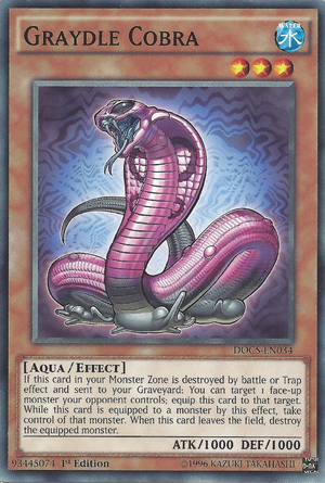 Graydle Cobra - Yugipedia - Yu-Gi-Oh! wiki