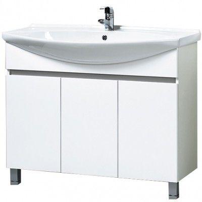 Купить мебель для ванной комнаты Акваль Тумба под ...