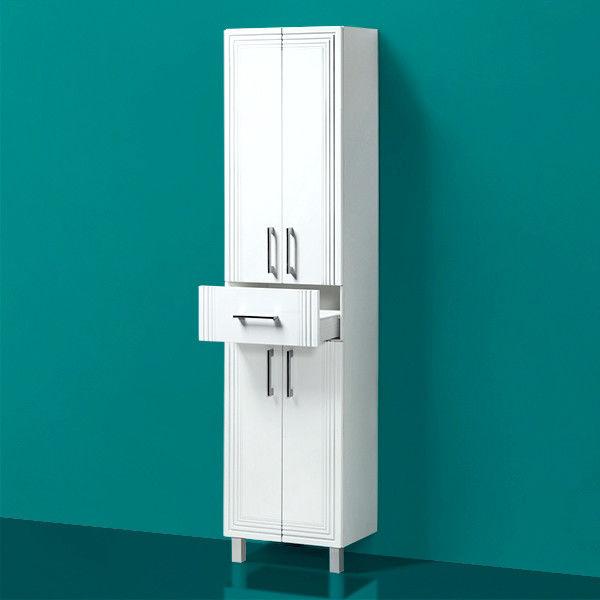 Купить мебель для ванной комнаты Акваль Шкаф-пенал Манго ...