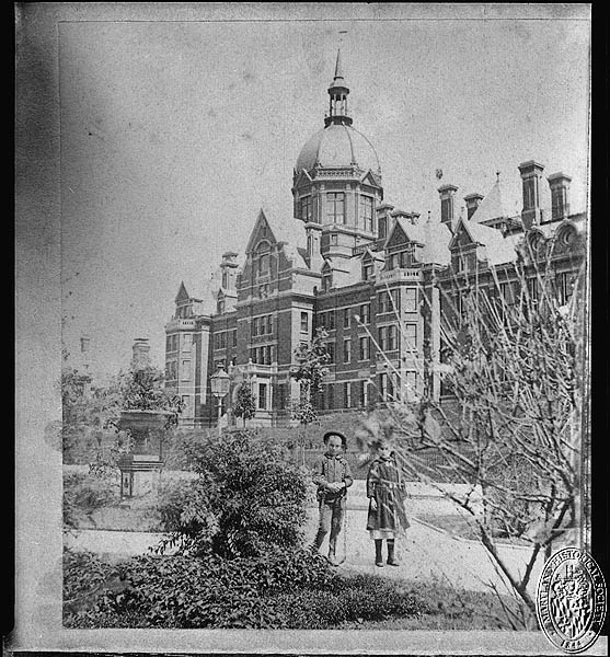 Johns Hopkins Hospital. Stereoview Collection, PP1. Maryland Historical Society