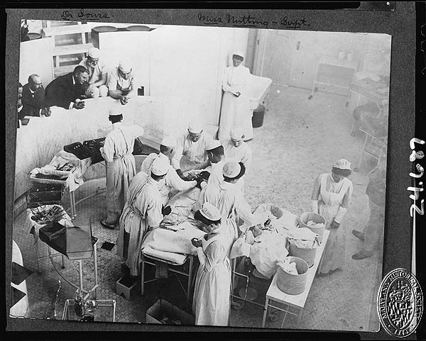 Johns Hopkins Hospital 1904 Operating Room (Z24.413). Photograph Collections Cross-Section. Maryland Historical Society