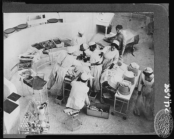 John's Hopkins Hospital 1904 Operating Room (Z24.414). Photograph Collections Cross-Section. Maryland Historical Society