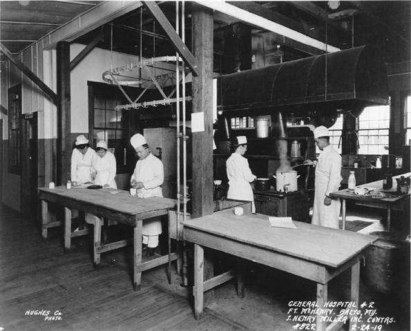 Diet Kitchen Main Mess. Fort McHenry National Monument and Historic Shrine. Fort McHenry National Monument and Historic Shrine