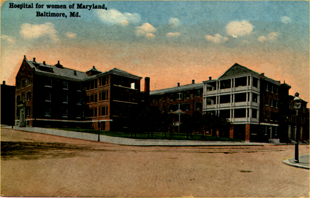 Maryland Hospital for Women. Private collection.