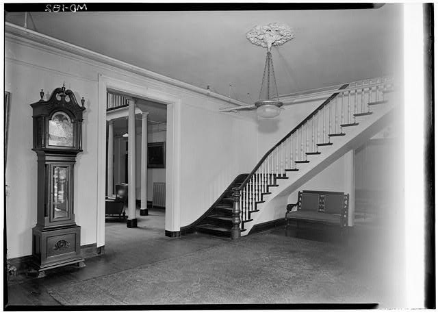 Aged Men's Home. Historic American Buildings Survey. Library of Congress