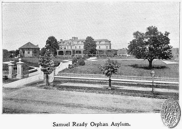 Samuel Ready Orphan Asylum. Maryland Historical Society