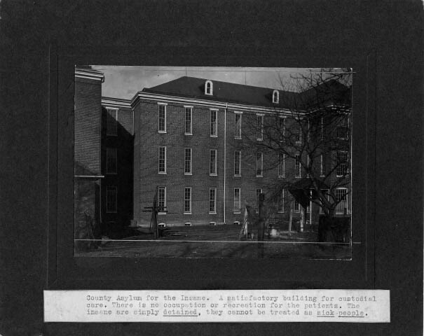 Cecil County Almshouse. 23rd Annual Report of the Maryland Lunacy Commission. Maryland State Archives