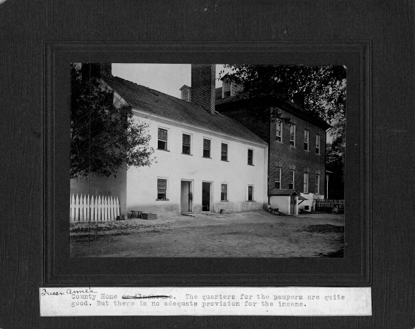 Queen Anne's County Almshouse. 23rd Annual Report of the Maryland Lunacy Commission. Maryland State Archives