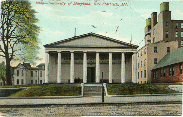 University of Maryland, Baltimore, Md. Private Collection.