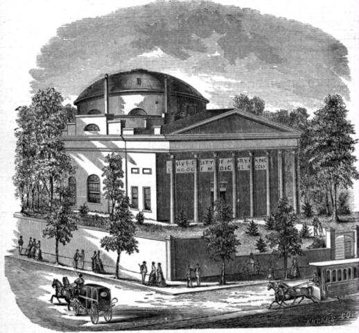 University of Maryland School of Medicine. Maryland State Archives
