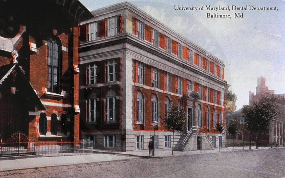 University of Maryland, Dental Department, Baltimore, Md., A026794. Images from the History of Medicine Collection. National Library of Medicine