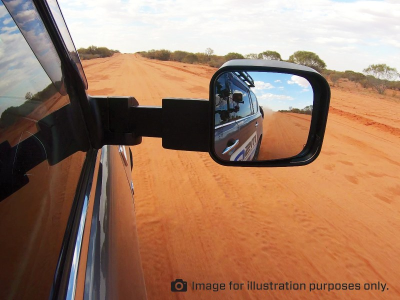 MSA 4X4 Towing Mirror Driver View