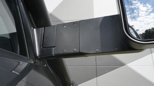 MSA 4X4 Towing Mirror Extension Infills Installed View of Back