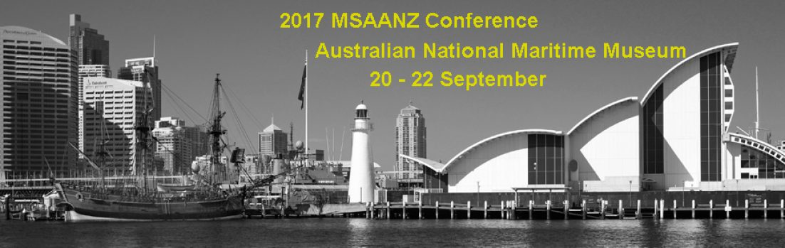 2017 MSAANZ Conference