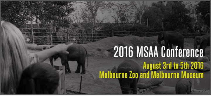 MSAANZ Conference Melbourne 2016