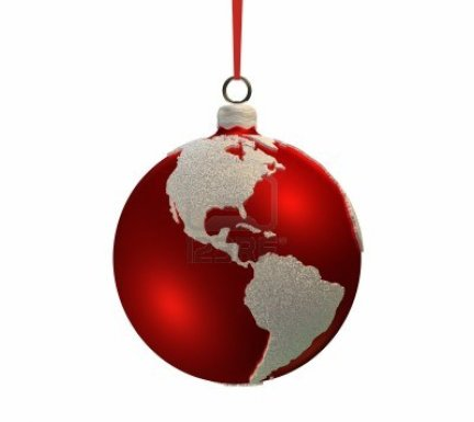 8541833-christmas-red-bulb-decorated-with-the-shape-of-continents-americas-3d-render