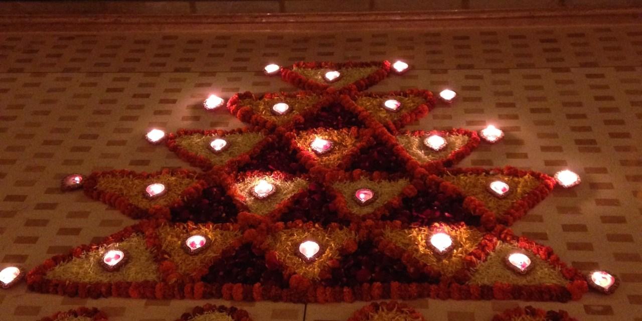 A pretty Diwali – India celebrates