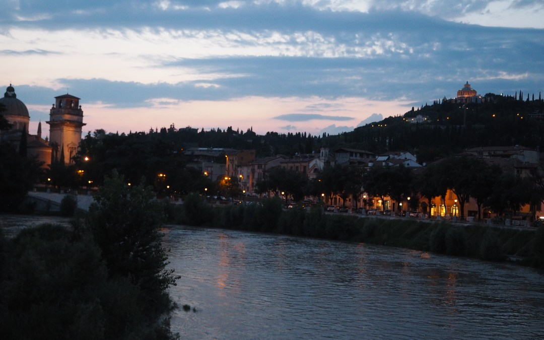 Twilight view of Verona a