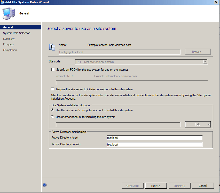 SCCM 2012, Part 2 configuration | Marius Sandbu