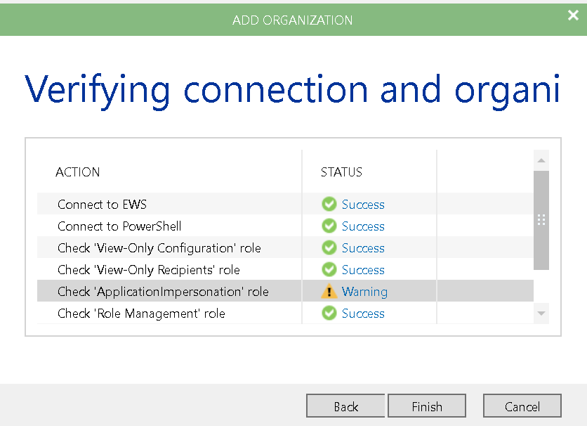 Backing up Offic365 email with Veeam Backup for Office365
