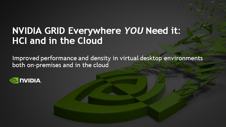 Considering GPU in the Cloud for VDI deployments? Not so