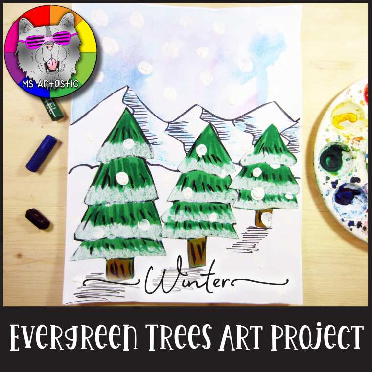 Here are 6 Art Activity Ideas that you can do in your classroom to be prepared and done planning before your vacation days start. Art Teacher | Christmas Art Ideas | Christmas art activities | Christmas art ideas for kids | Christmas Art Project