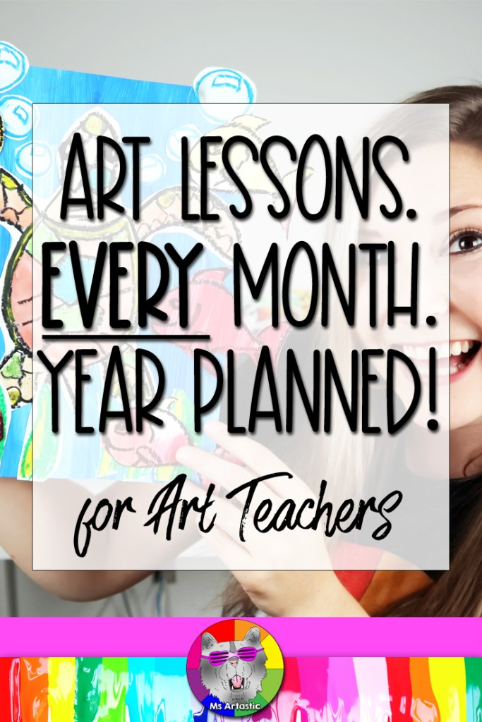 The Artastic Collective Membership offers Art Teachers a community, virtual Q+A's and meet-ups, and art lessons that I've created. Get my fully planned art lessons (rubrics! assessment! lesson plans! tutorials!) to save you time and give you freedom, and to have fun, creative art projects to make with your students in your art classroom. The AC Membership is a monthly, affordable, pay-as-you go membership that is convenient for you with new art lessons each month! You got this art teacher!