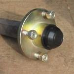 100mm PCD Hub 200 x 35 Stub Axle