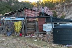 Tarahumara settlement Creel