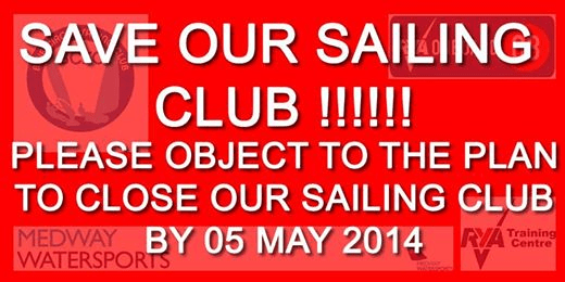 Save Blue Circle Sailing Club