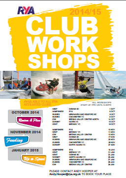 RYA Workshops