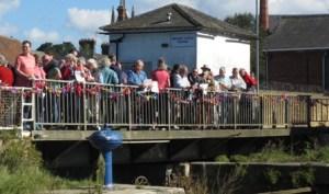 Faversham swing bridge