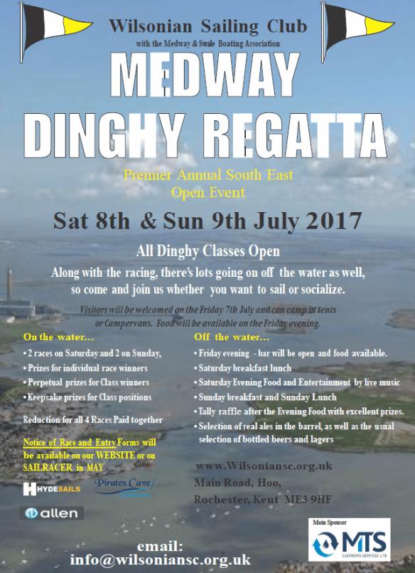 Medway Dinghy Regatta 2017