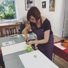 Expressive Inks Master Class With Tracy Fennell Illustration 5