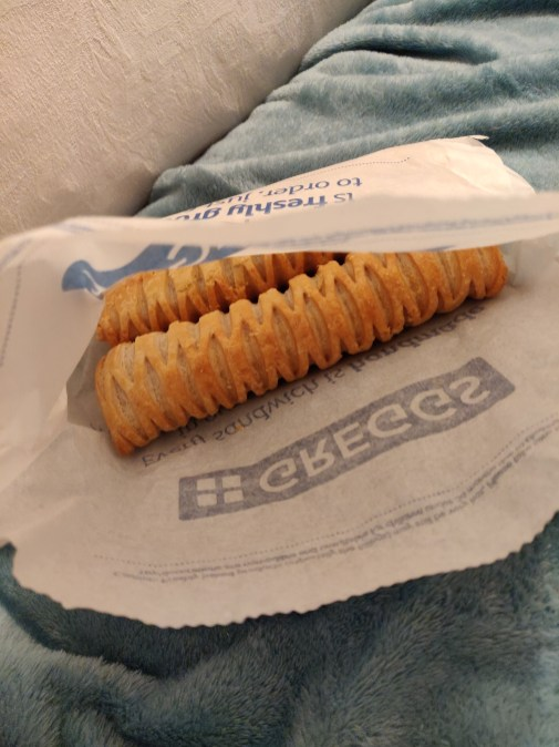 The notorious Greggs vegan sausage roll!