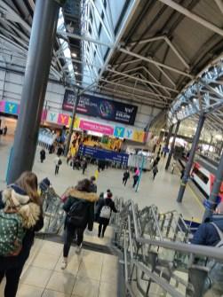 Leeds City Train Station