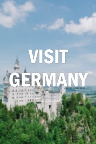 Visit Germany - Bucket List