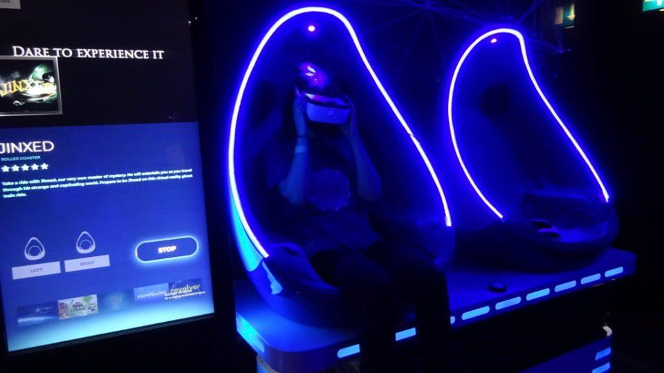 Birthday VR pod experience