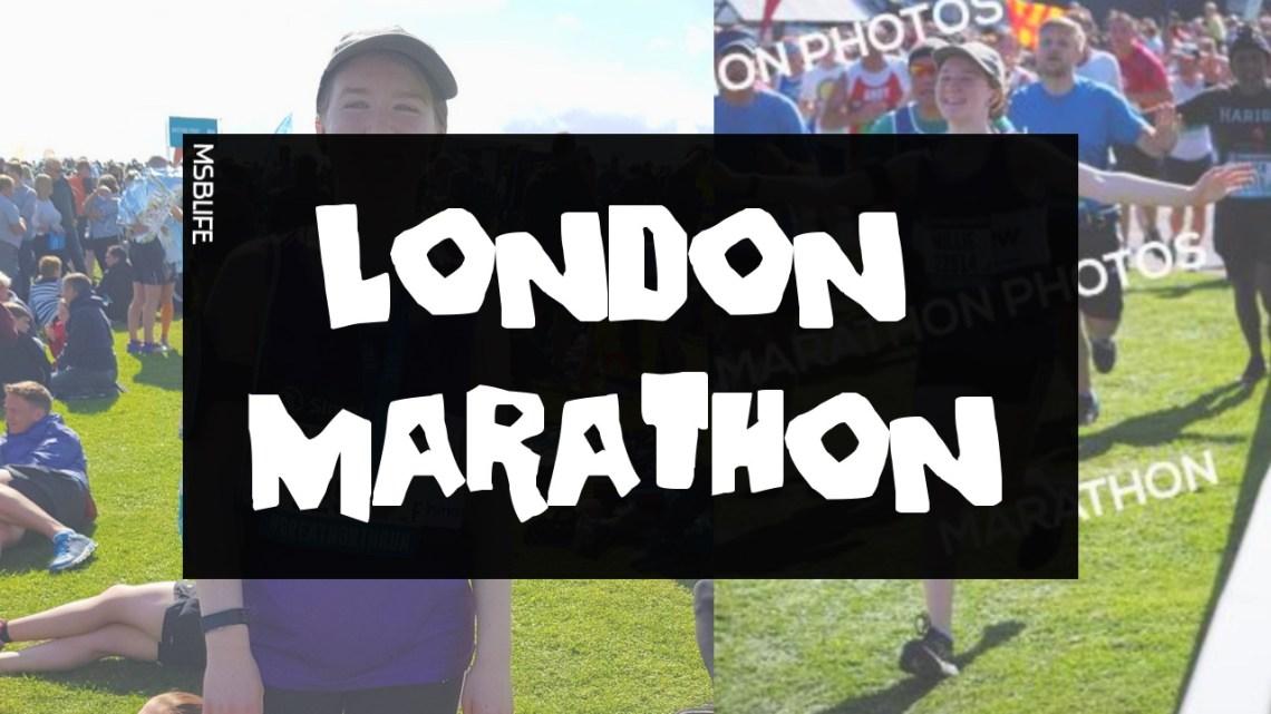 Photos of my running at the half marathon for Mayhew