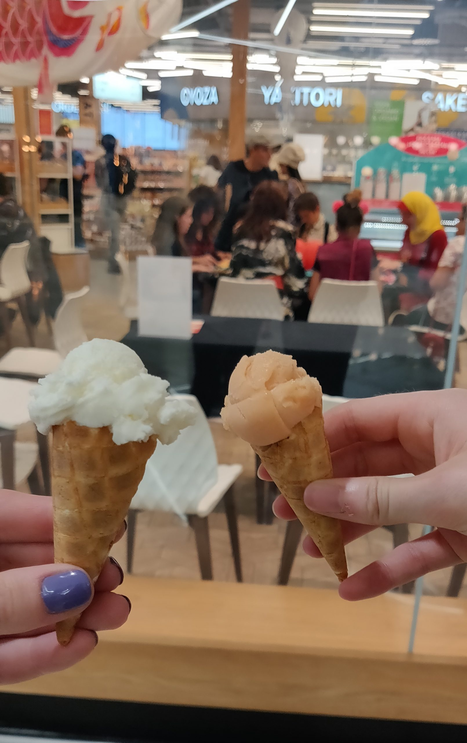 Emily and I with Sorbet