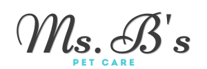 Ms.B's Logo - Best Seaport Dog Walker