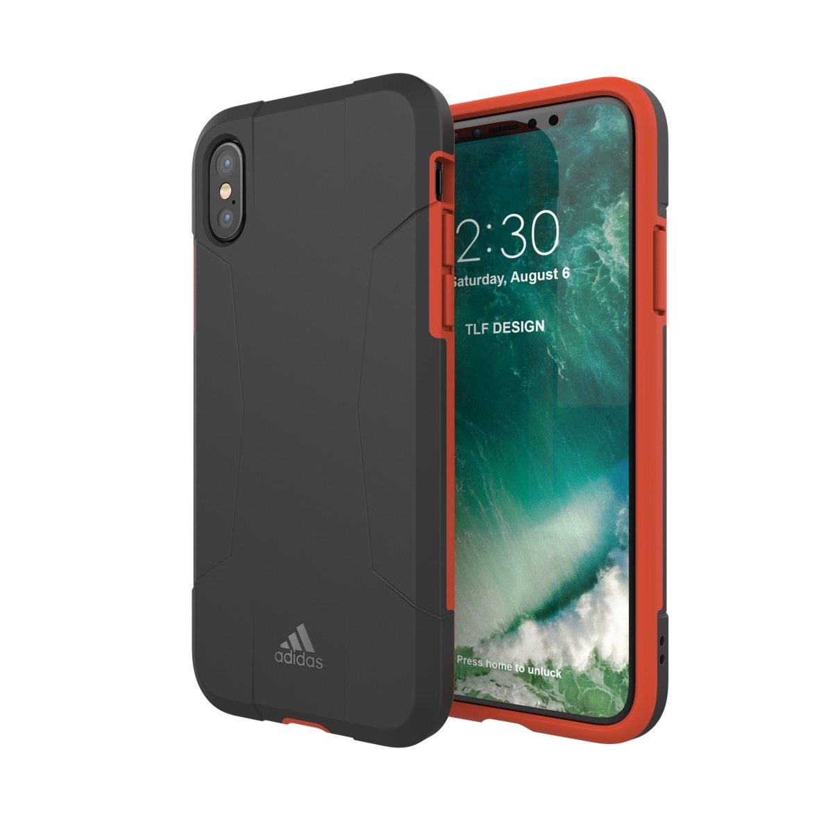 adidas Performance Solo Case iPhone X Black/Red