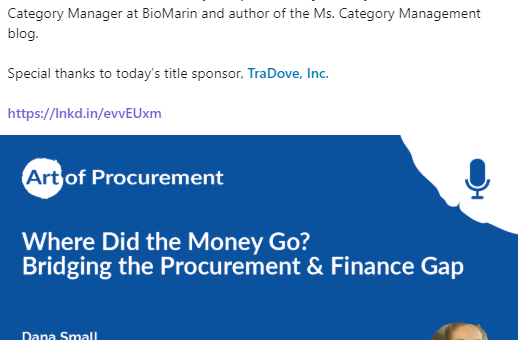 It's Here! My Premiere Podcast with Art of Procurement's (AOP) Phillip Ideson