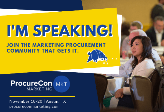 ProcureCon Marketing 2019 – Come See Me Speak and Keep Austin Weird!