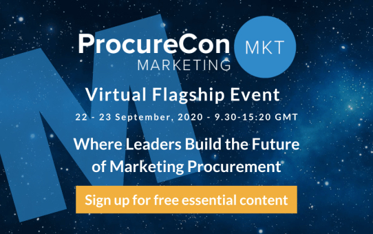I'm speaking at ProcureCon Marketing Virtual Flagship Event - Join me on 9/23 for a Legendary Event!