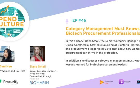 Spend Culture Stories Podcast: Category Management Must Knows for Biotech Procurement Professionals